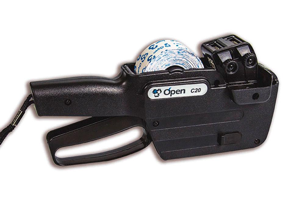 Etiquetadora manual Open C20 – Guia completo