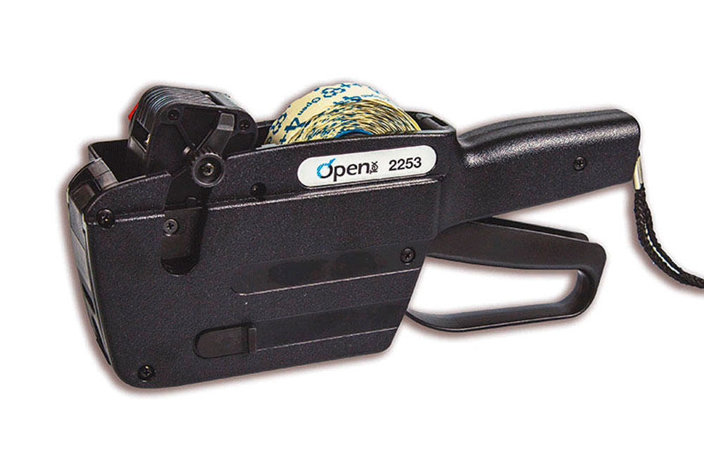 Etiquetadora manual Open Tex 2253 – Guia completo