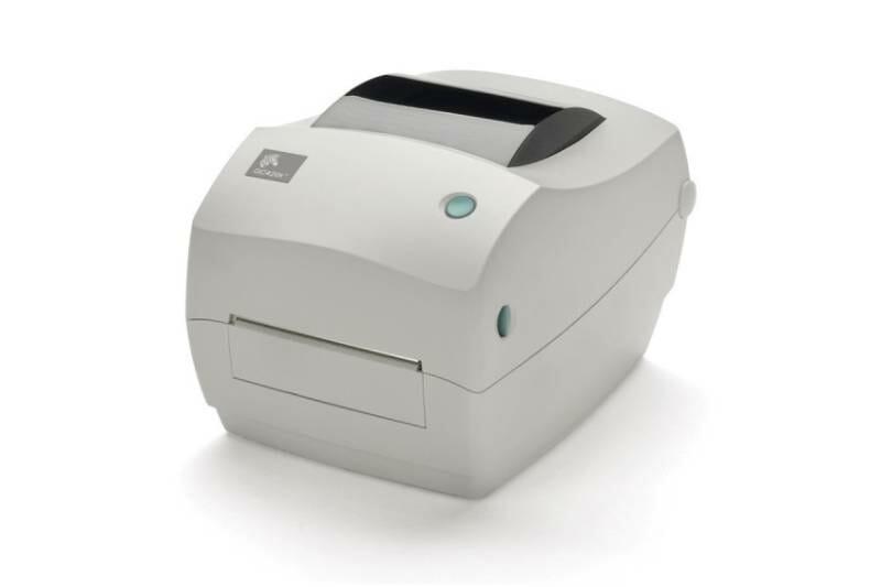 Como colocar ribbon na impressora Zebra GC4420t