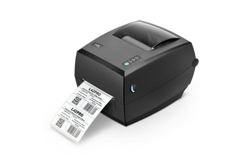 Como imprimir etiquetas de envio em massa de forma automática na impressora térmica Elgin